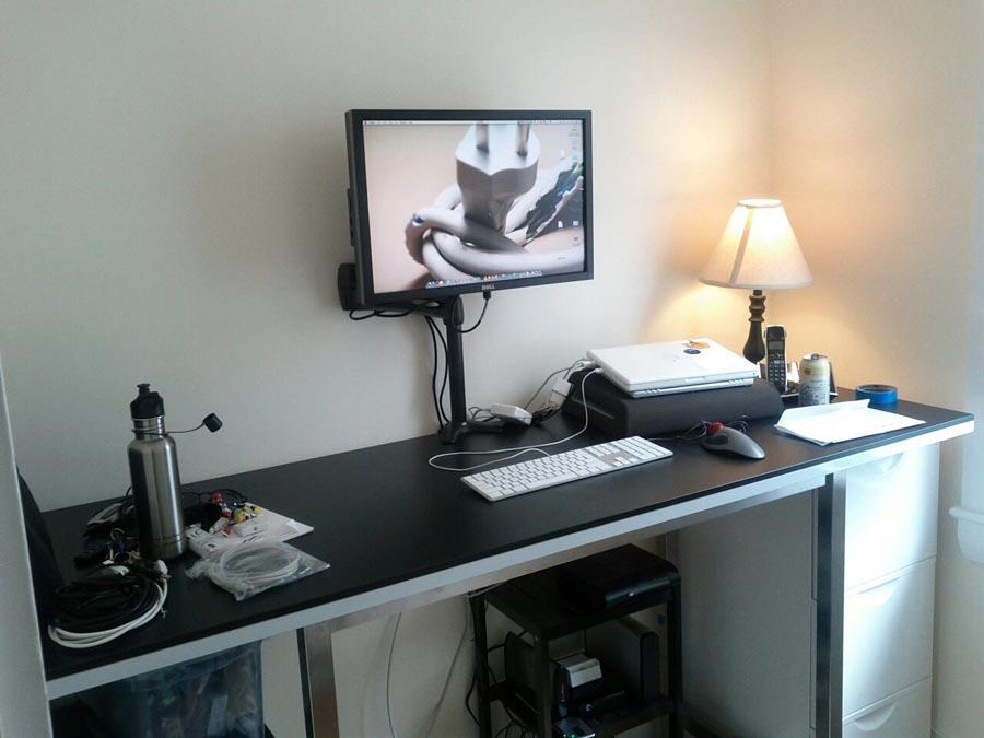Adventures In Standing My Standing Desk